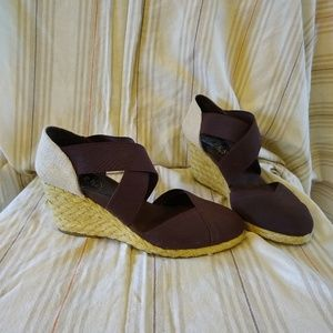 Lauren Ralph Lauren brown wedges